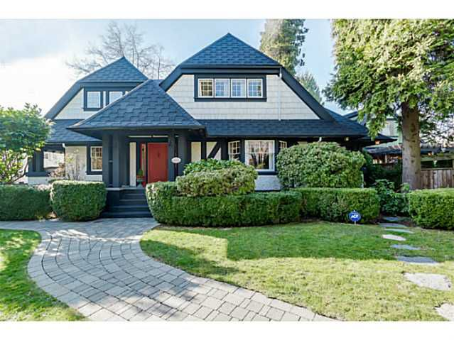Main Photo: 1653 GRAND Boulevard in North Vancouver: Boulevard House