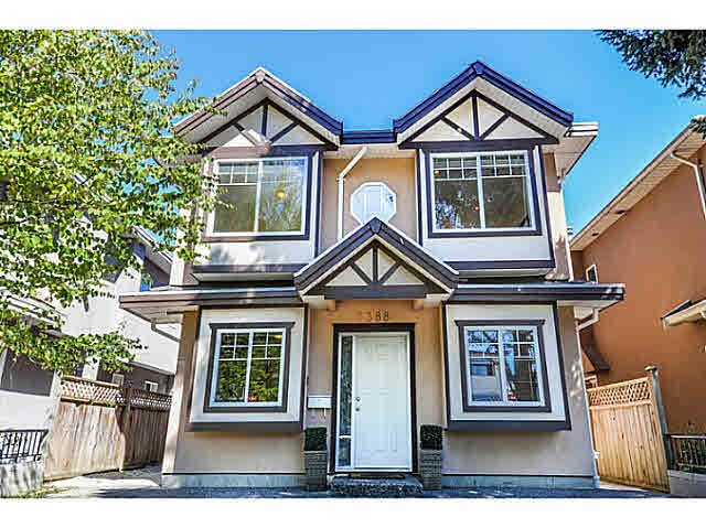 Main Photo: 6388 BEATRICE Street in Vancouver: Mount Pleasant VE House 1/2 Duplex for sale (Vancouver East)  : MLS®# V1143589