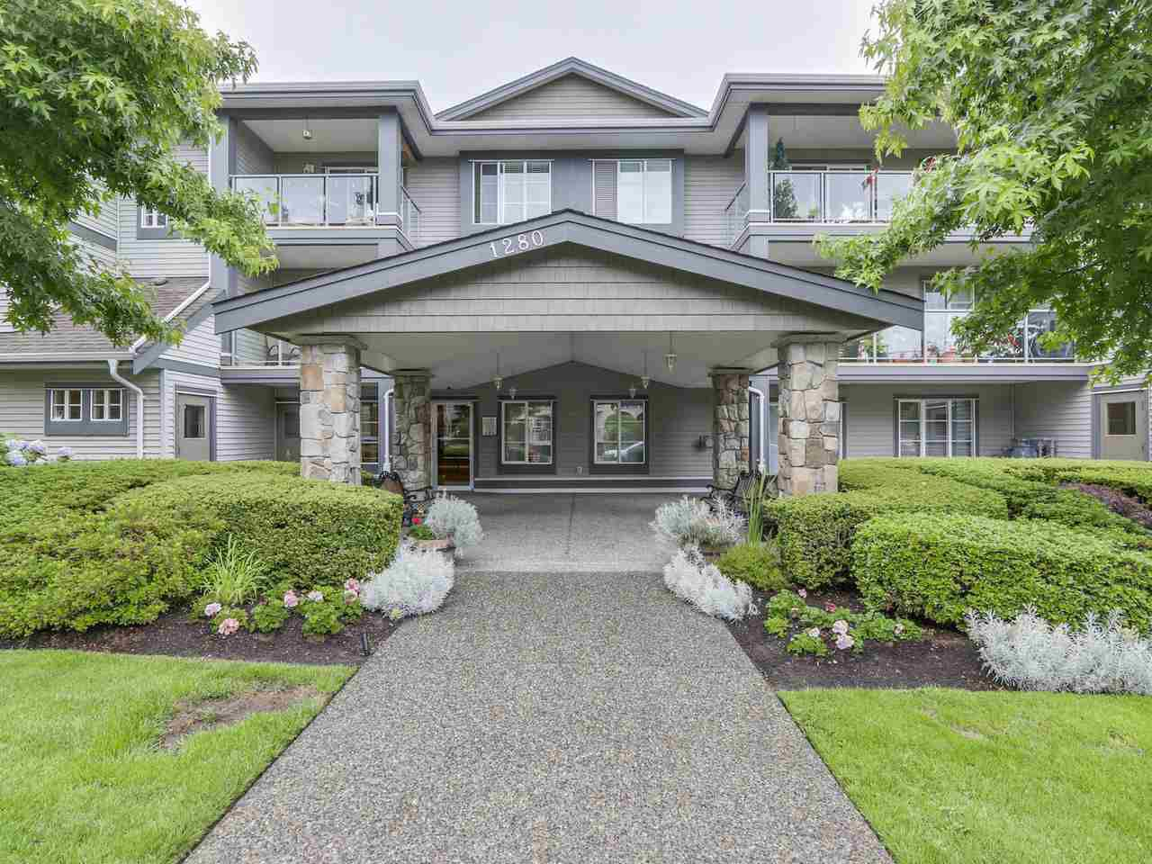 Main Photo: 205 1280 MERKLIN Street: White Rock Condo for sale (South Surrey White Rock)  : MLS®# R2088301