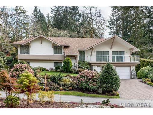Main Photo: 4459 Autumnwood Lane in VICTORIA: SE Broadmead Single Family Detached for sale (Saanich East)  : MLS®# 375789