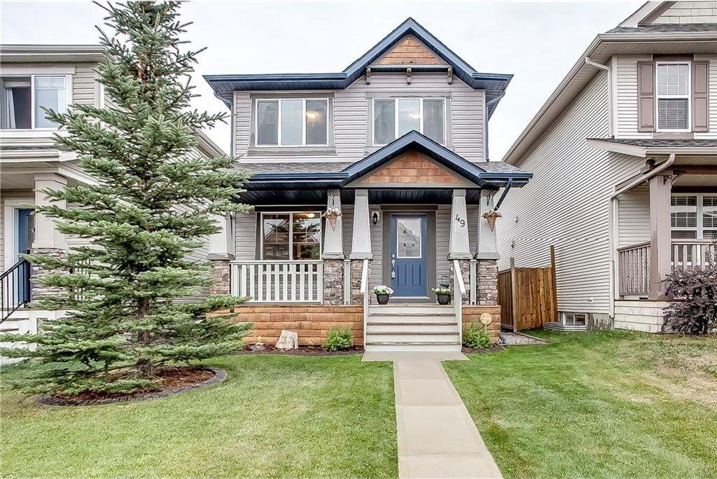 Main Photo: 49 SILVERADO PLAINS View SW in Calgary: Silverado House for sale : MLS®# C4130793