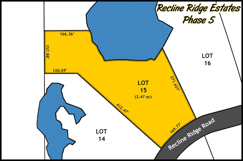 Recline Ridge Estates Phase V - Lot 15