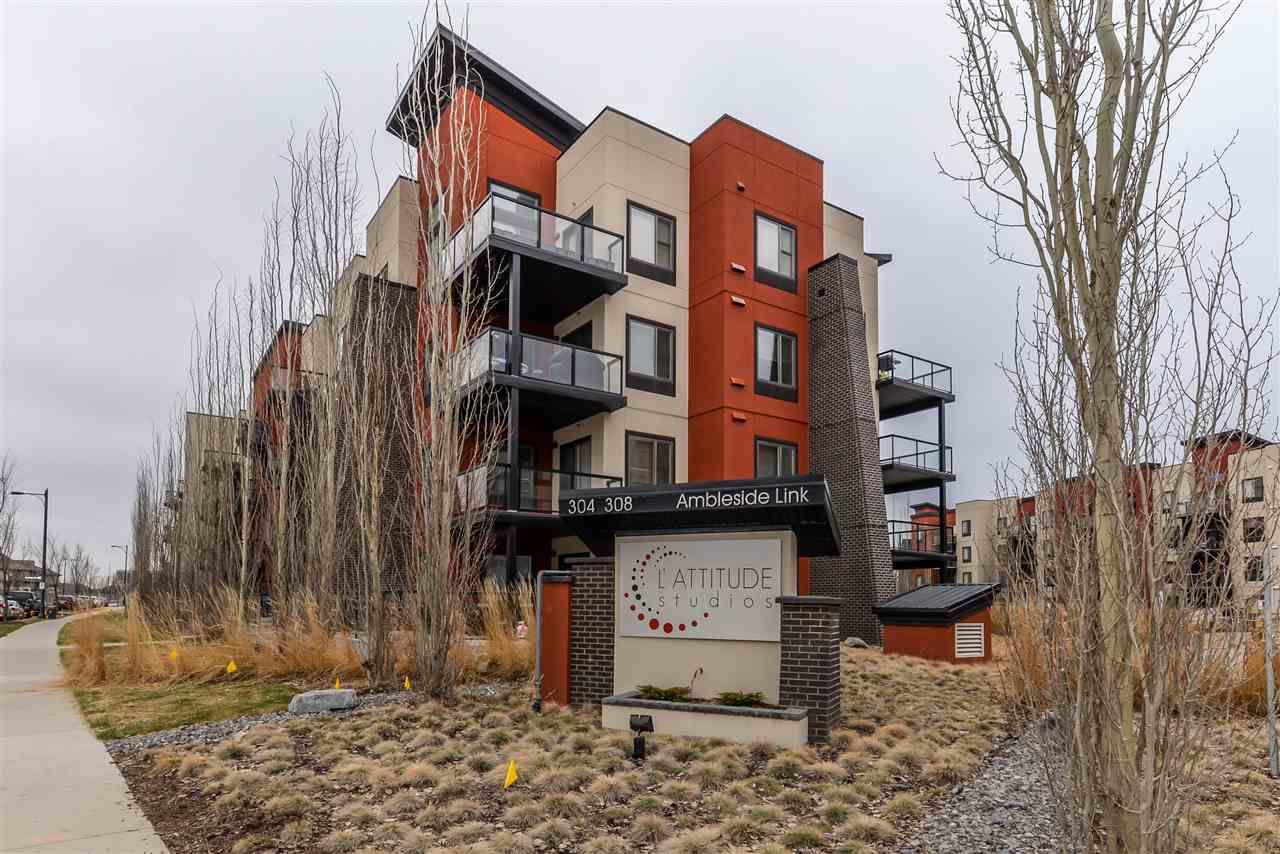Main Photo: 337 308 AMBLESIDE Link in Edmonton: Zone 56 Condo for sale : MLS®# E4143602
