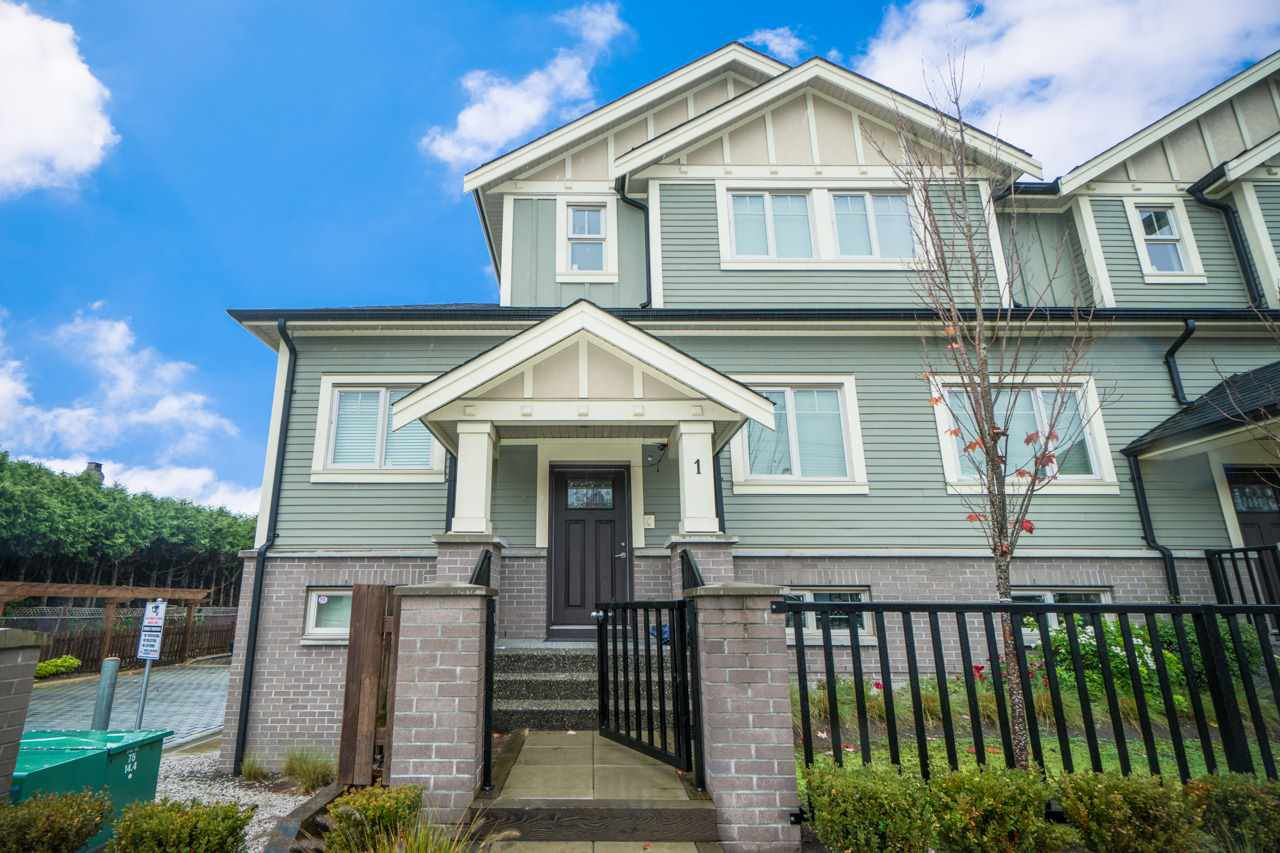 """Main Photo: 1 9833 CAMBIE Road in Richmond: West Cambie Townhouse for sale in """"CASA LIVING"""" : MLS®# R2356161"""