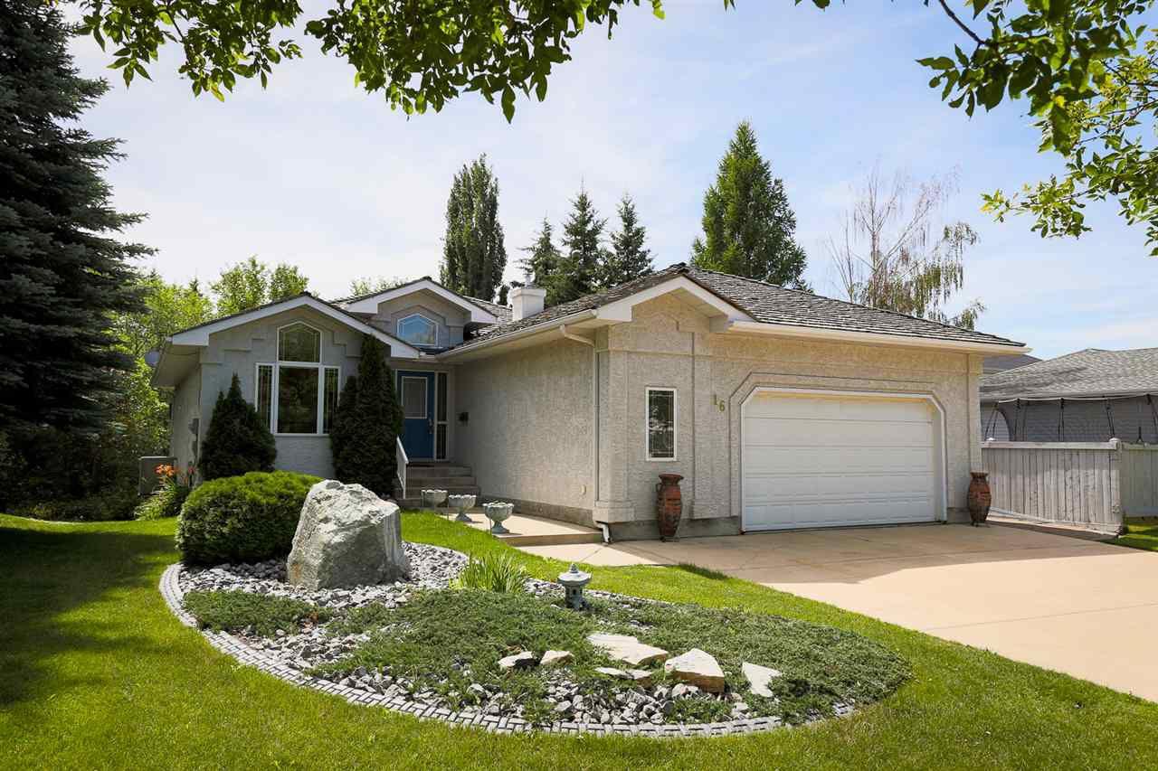 Main Photo: 16 HARWOOD Drive: St. Albert House for sale : MLS®# E4154526