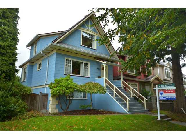 "Main Photo: 411 E 46TH Avenue in Vancouver: Fraser VE House for sale in ""Fraser/Sunset"" (Vancouver East)  : MLS®# V912807"