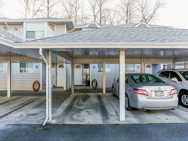 Main Photo: 16 1406 BRUNETTE Avenue in Coquitlam: Maillardville Townhouse for sale : MLS®# V1045279