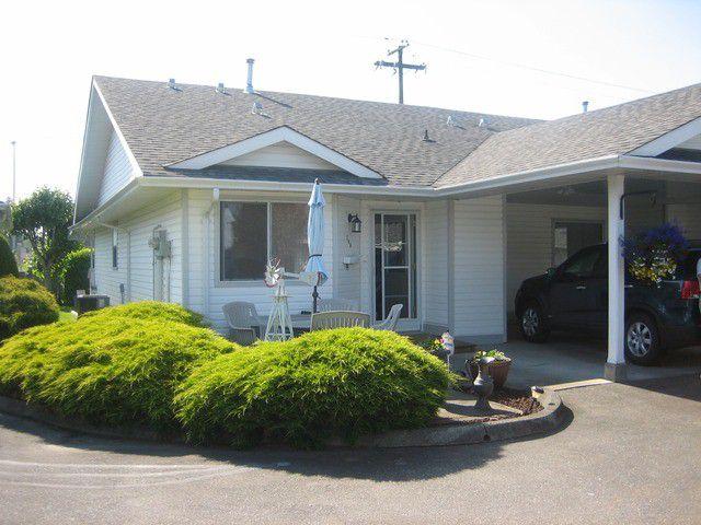 "Main Photo: 240 7610 EVANS Road in Sardis: Sardis West Vedder Rd Townhouse for sale in ""Cottonwood Retirement Village"" : MLS®# H1402378"