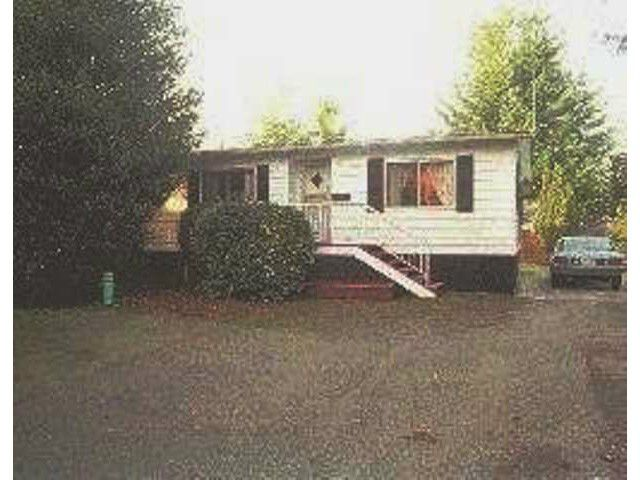 Main Photo: 15283 20TH Avenue in Surrey: King George Corridor Manufactured Home for sale (South Surrey White Rock)  : MLS®# F1435986