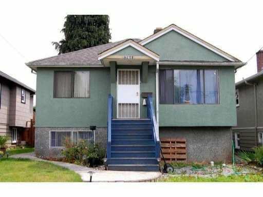 Main Photo: 3170 E 47TH AVENUE in : Killarney VE House for sale : MLS®# V901775