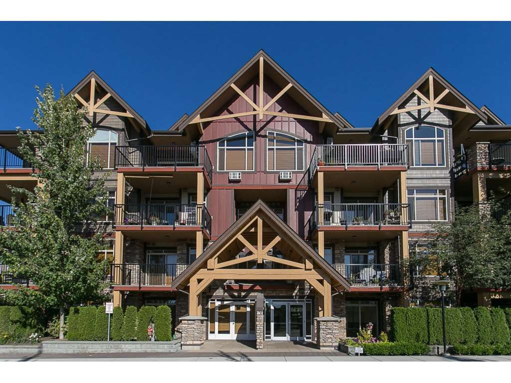 """Main Photo: 308 8328 207A Street in Langley: Willoughby Heights Condo for sale in """"Yorkson Creek"""" : MLS®# R2101718"""
