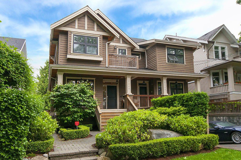 Photo 1: Photos: 2349 W 8TH Avenue in Vancouver: Kitsilano House 1/2 Duplex for sale (Vancouver West)  : MLS®# R2180429