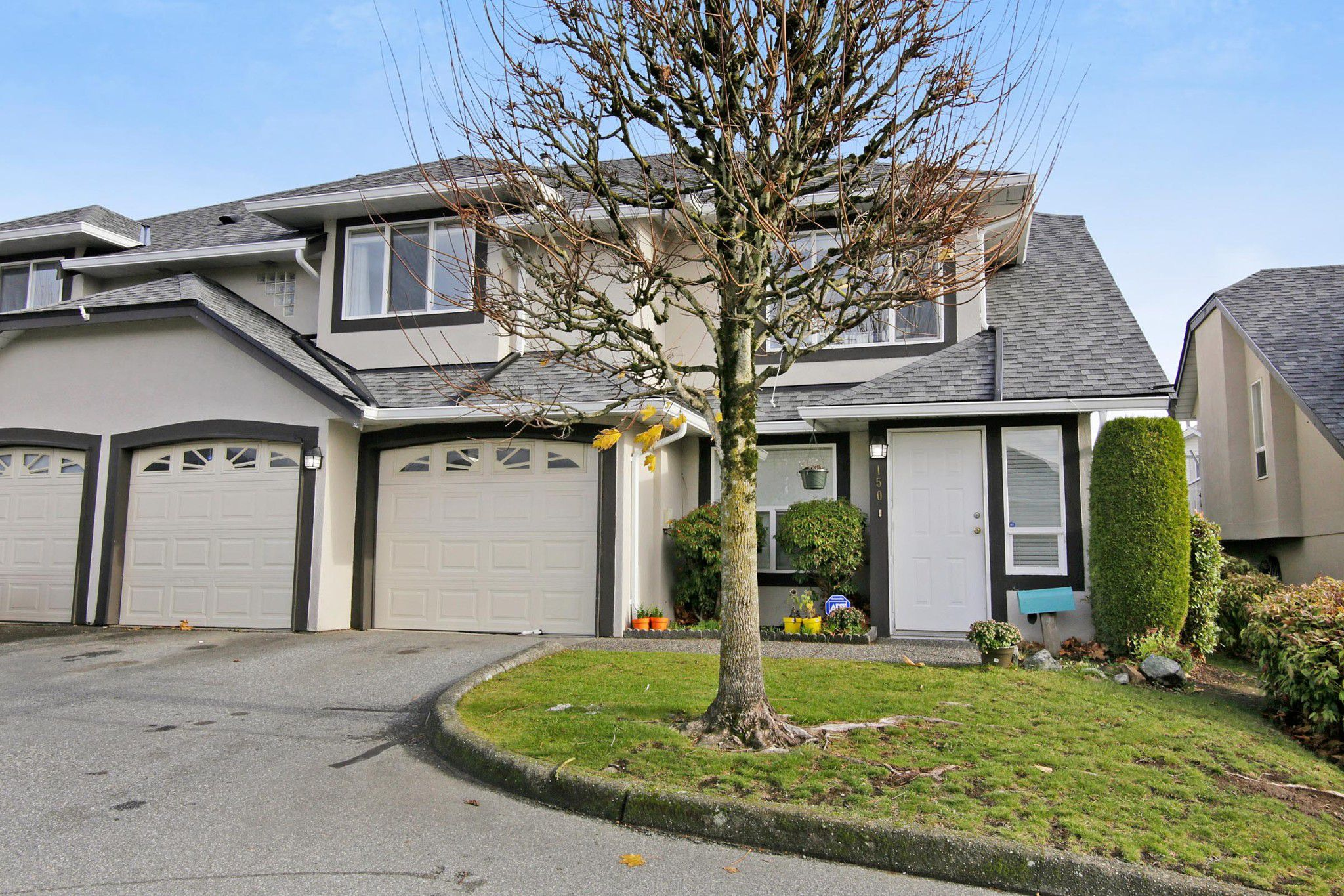 "Main Photo: 150 3160 TOWNLINE Road in Abbotsford: Abbotsford West Townhouse for sale in ""Southpoint Ridge"" : MLS®# R2222562"