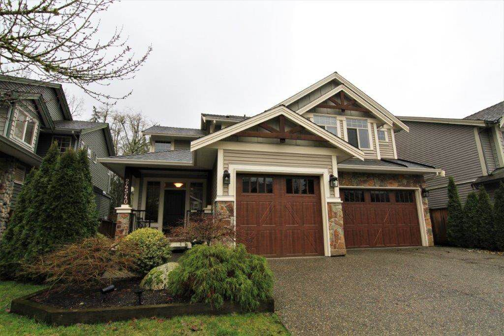 """Main Photo: 24540 KIMOLA Drive in Maple Ridge: Albion House for sale in """"HIGHLAND FOREST"""" : MLS®# R2237492"""