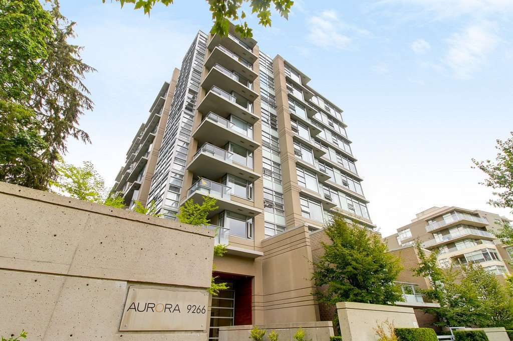 Main Photo: 809 9266 UNIVERSITY CRESCENT in Burnaby: Simon Fraser Univer. Condo for sale (Burnaby North)  : MLS®# R2201389