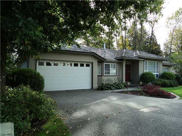 """Main Photo: 3306 ROBSON DR in Coquitlam: Hockaday House for sale in """"HOCKADAY"""" : MLS®# V1031207"""