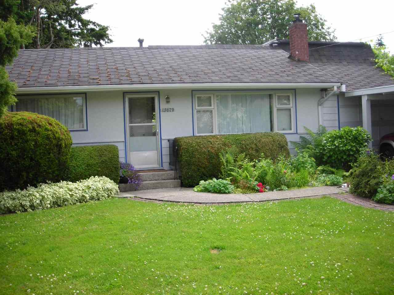 Main Photo: 15670 ROPER Avenue: White Rock House for sale (South Surrey White Rock)  : MLS®# R2039603