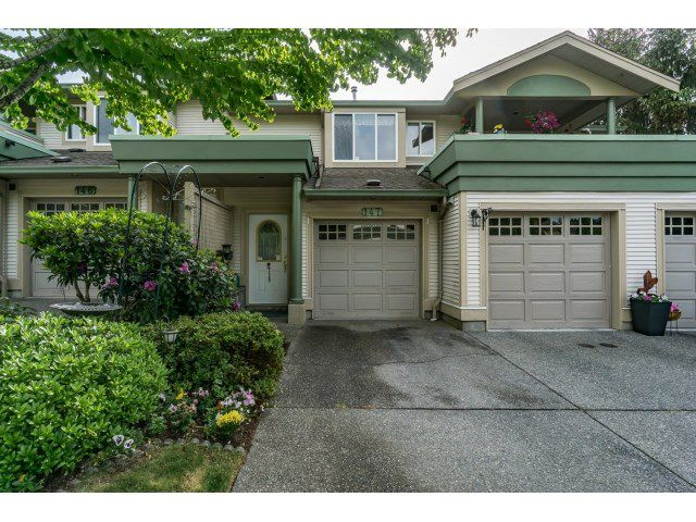 "Main Photo: 147 13888 70 Avenue in Surrey: East Newton Townhouse for sale in ""Chelsea Gardens"" : MLS®# R2071446"
