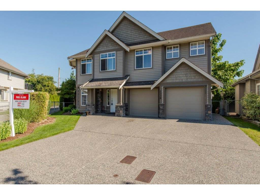 "Main Photo: 3338 273B Street in Langley: Aldergrove Langley House for sale in ""Stonebridge Estates"" : MLS®# R2085039"