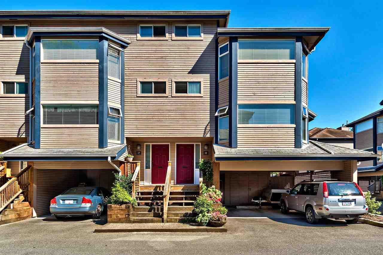 Main Photo: 18 1195 FALCON Drive in Coquitlam: Eagle Ridge CQ Townhouse for sale : MLS®# R2097188