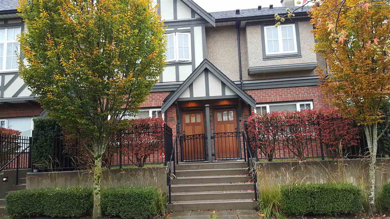 "Main Photo: 1013 W 46TH Avenue in Vancouver: South Granville Townhouse for sale in ""CARRINGTON"" (Vancouver West)  : MLS®# R2121144"