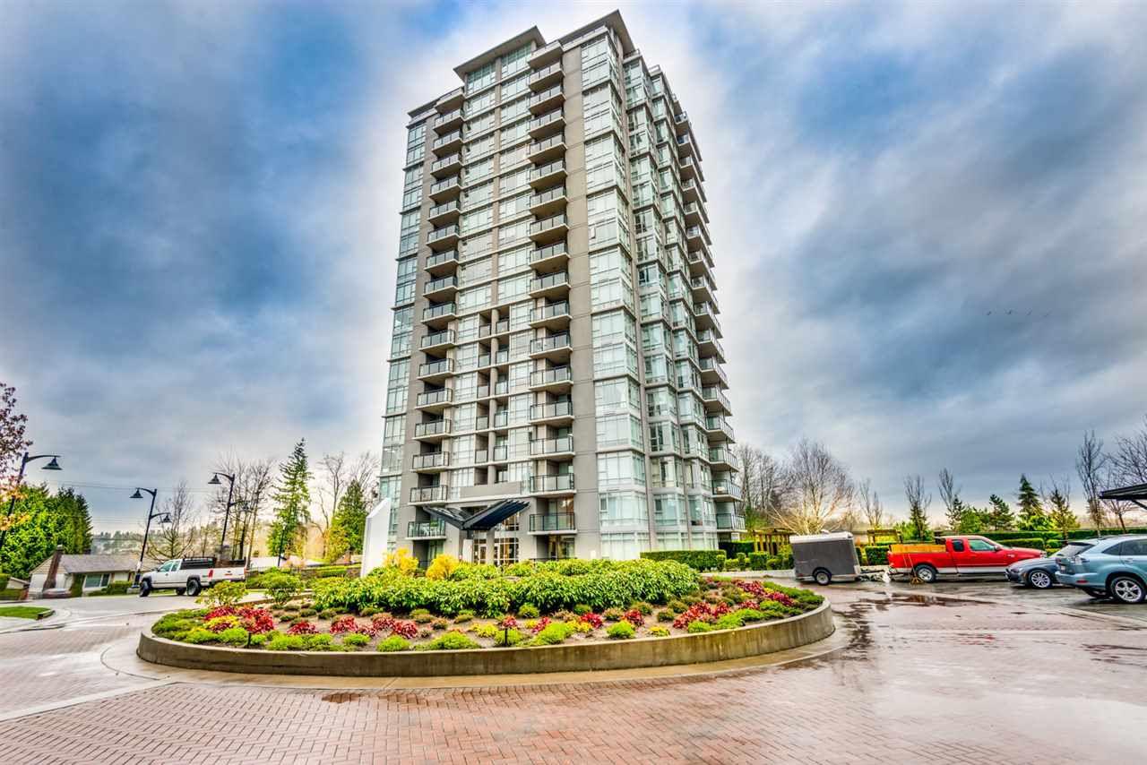 Main Photo: 2102 555 DELESTRE Avenue in Coquitlam: Coquitlam West Condo for sale : MLS®# R2235171
