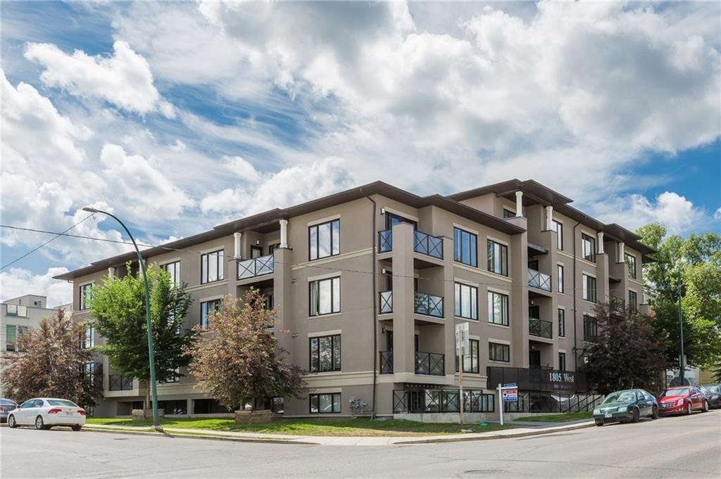 Main Photo: 405 1805 26 Avenue SW in Calgary: South Calgary Condo for sale : MLS®# C4165197