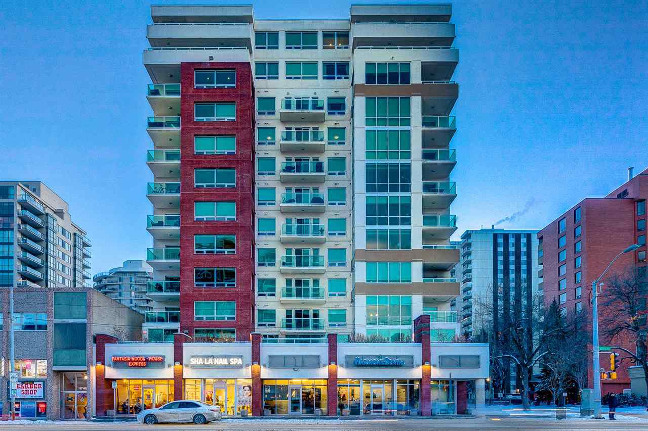 Main Photo: 1204 10055 118 Street in Edmonton: Zone 12 Condo for sale : MLS®# E4145384