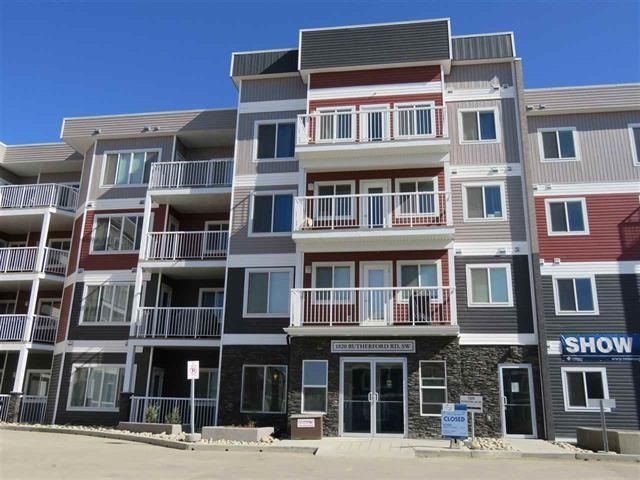 Main Photo: 202 1820 RUTHERFORD Road in Edmonton: Zone 55 Condo for sale : MLS®# E4146995