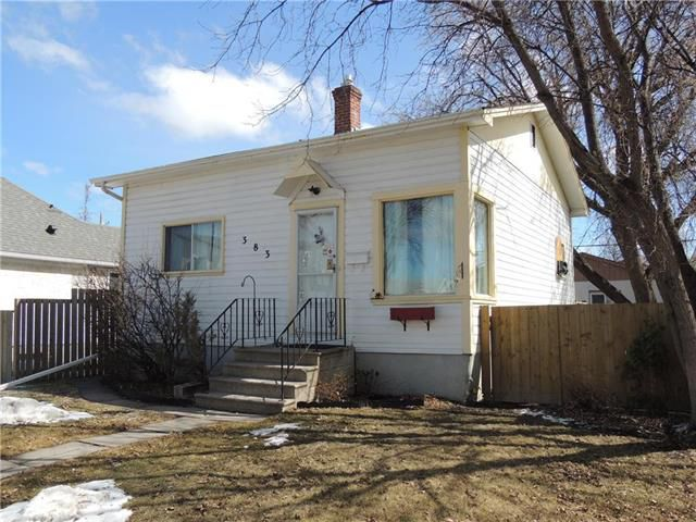 Main Photo: 383 Collegiate Street in Winnipeg: St James Residential for sale (5E)  : MLS®# 1905385