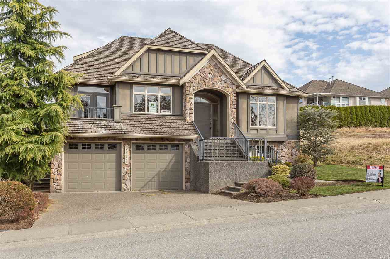 """Main Photo: 3874 COACHSTONE Way in Abbotsford: Abbotsford East House for sale in """"Creekstone on the Park"""" : MLS®# R2373210"""