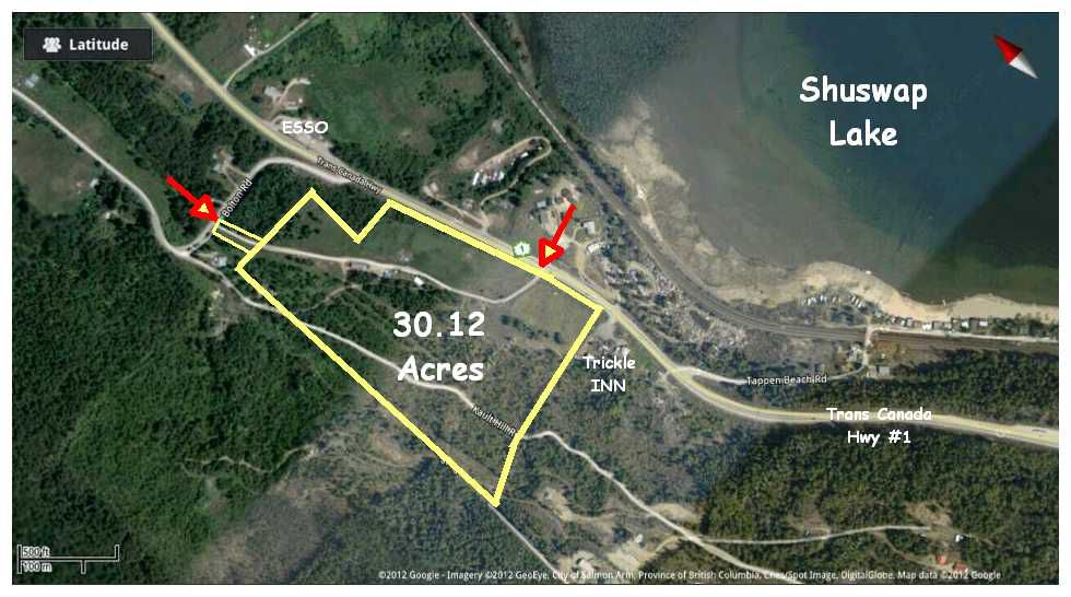 Main Photo: 517 Bolton Road: Tappen Residential Detached for sale (Shuswap Lake)  : MLS®# 10044454