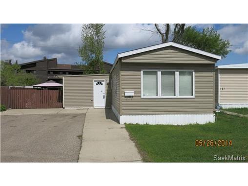 Main Photo: 123 219 Grant Street in Saskatoon: Forest Grove Mobile (Rented Lot) for sale (Saskatoon Area 01)  : MLS®# 499637