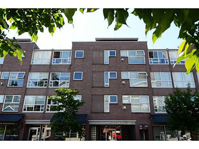 """Main Photo: 304 2025 STEPHENS Street in Vancouver: Kitsilano Condo for sale in """"STEPHEN'S COURT"""" (Vancouver West)  : MLS®# V1069084"""