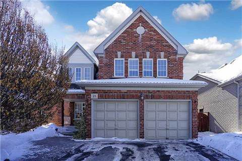 Main Photo: 25 Gartshore Drive in Whitby: Williamsburg House (2-Storey) for sale : MLS®# E3150320