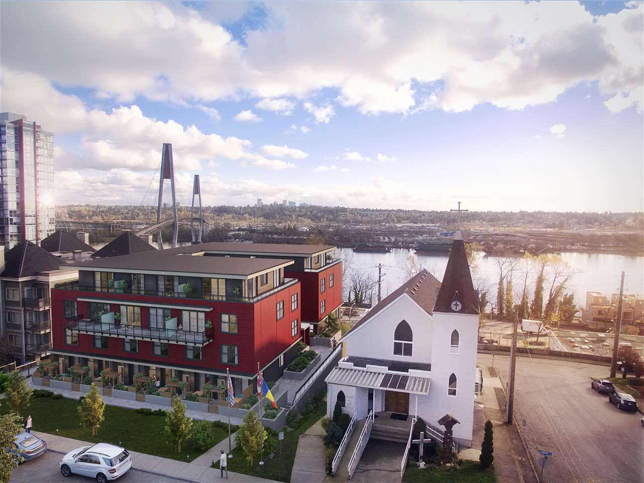 "Main Photo: 510 218 CARNARVON Street in New Westminster: Quay Condo for sale in ""IRVING LIVING"" : MLS®# R2208591"