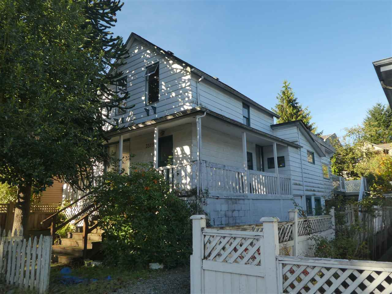 Main Photo: 3519 HULL Street in Vancouver: Grandview VE House for sale (Vancouver East)  : MLS®# R2217453