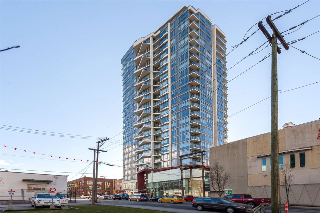 Main Photo: 1208 1775 QUEBEC STREET in Vancouver: Mount Pleasant VE Condo for sale (Vancouver East)  : MLS®# R2219398