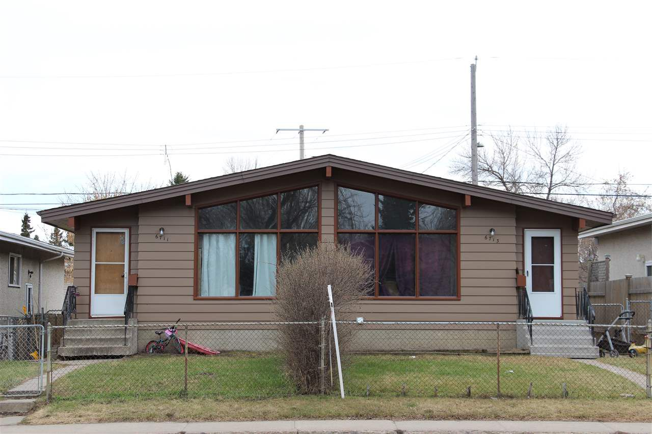 Main Photo: 6711/6713 101 Avenue in Edmonton: Zone 19 House Duplex for sale : MLS®# E4153271