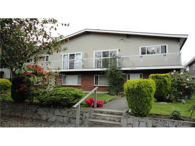 Main Photo: 6667 GRANT Street in Burnaby: Sperling-Duthie House 1/2 Duplex for sale (Burnaby North)  : MLS®# V921434