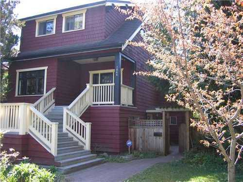 Main Photo: 3866 18TH Ave W in Vancouver West: Dunbar Home for sale ()  : MLS®# V954526