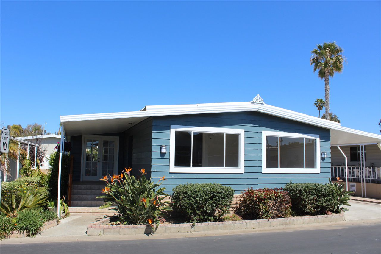 Main Photo: CARLSBAD SOUTH Manufactured Home for sale : 2 bedrooms : 7018 San Carlos in Carlsbad
