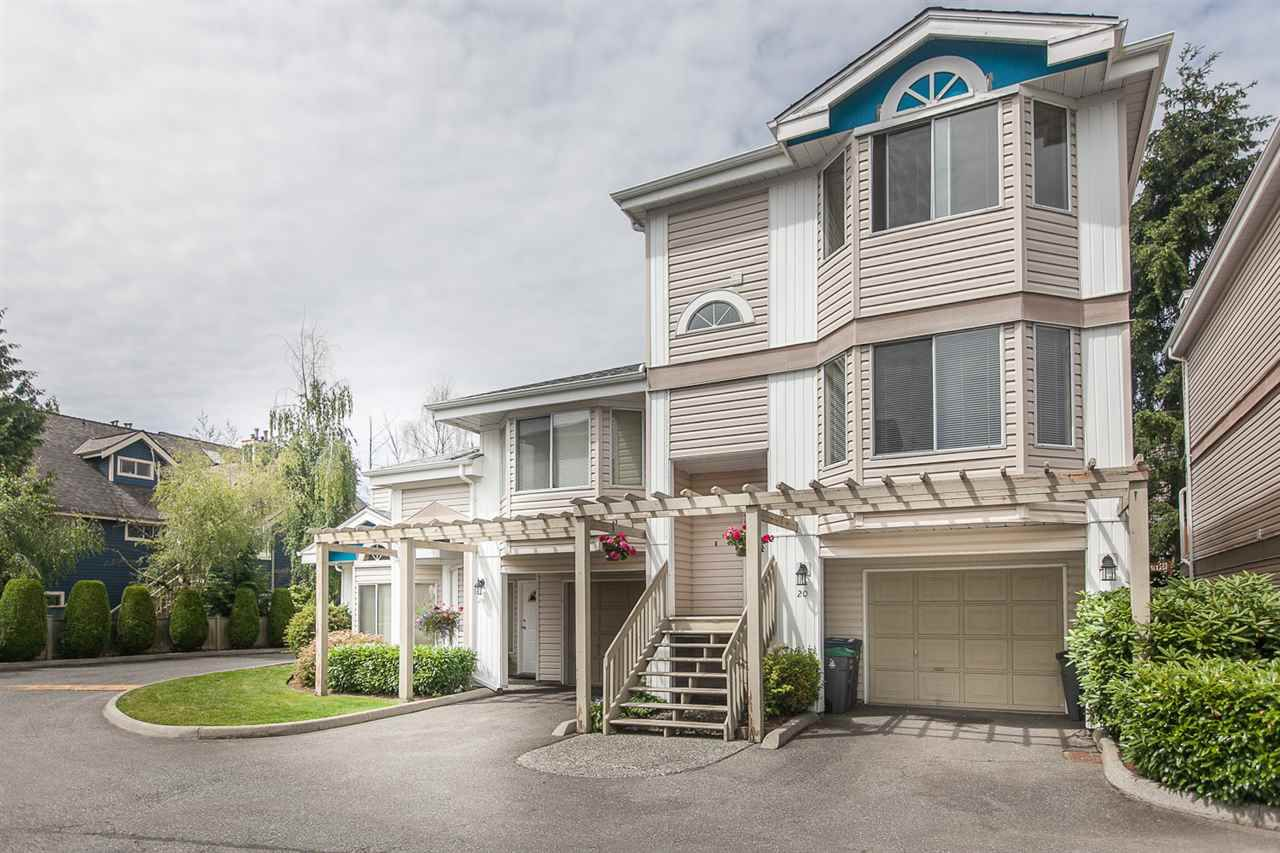 """Main Photo: 20 7875 122 Street in Surrey: West Newton Townhouse for sale in """"The Georgian"""" : MLS®# R2083338"""