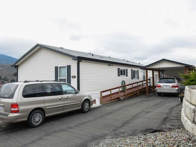 Main Photo: 45 768 E SHUSWAP ROAD in : South Thompson Valley Manufactured Home/Prefab for sale (Kamloops)  : MLS®# 137581