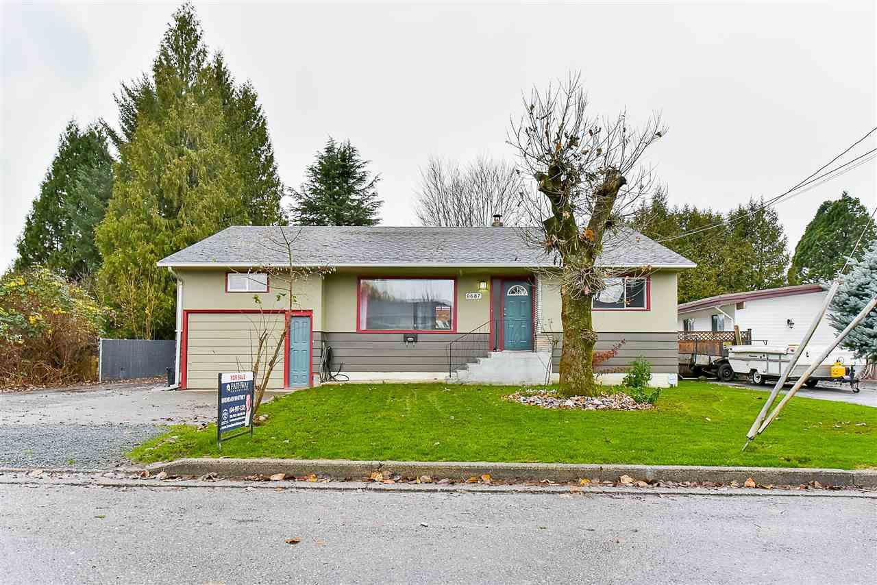 Main Photo: 9687 HARRISON Street in Chilliwack: Chilliwack N Yale-Well House for sale : MLS®# R2126975