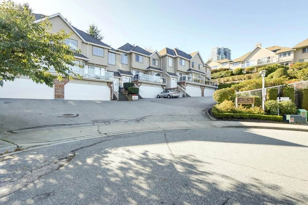 Main Photo: 7 72 JAMIESON Court in New Westminster: Fraserview NW Townhouse for sale : MLS®# R2211716