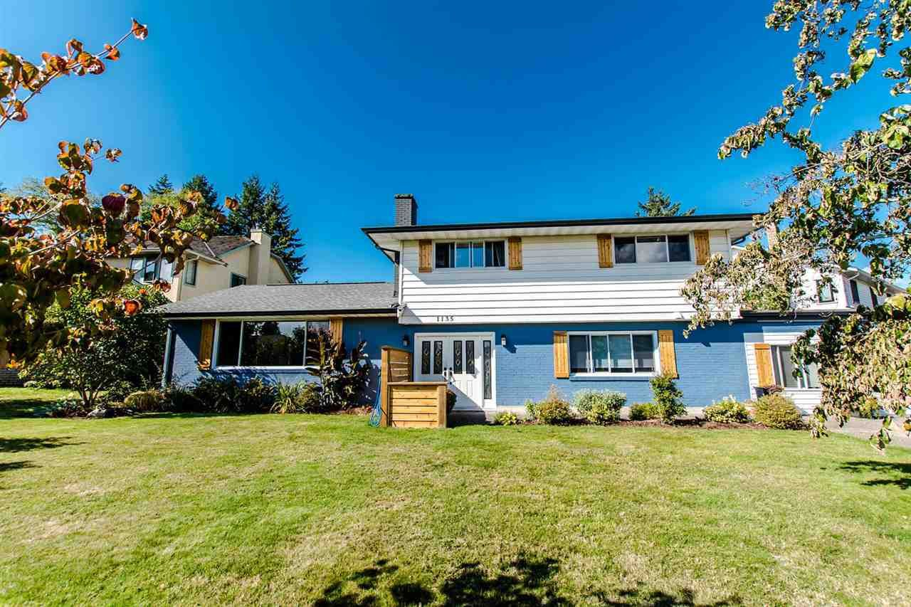 Main Photo: 1135 164A STREET in Surrey: King George Corridor House for sale (South Surrey White Rock)  : MLS®# R2211607