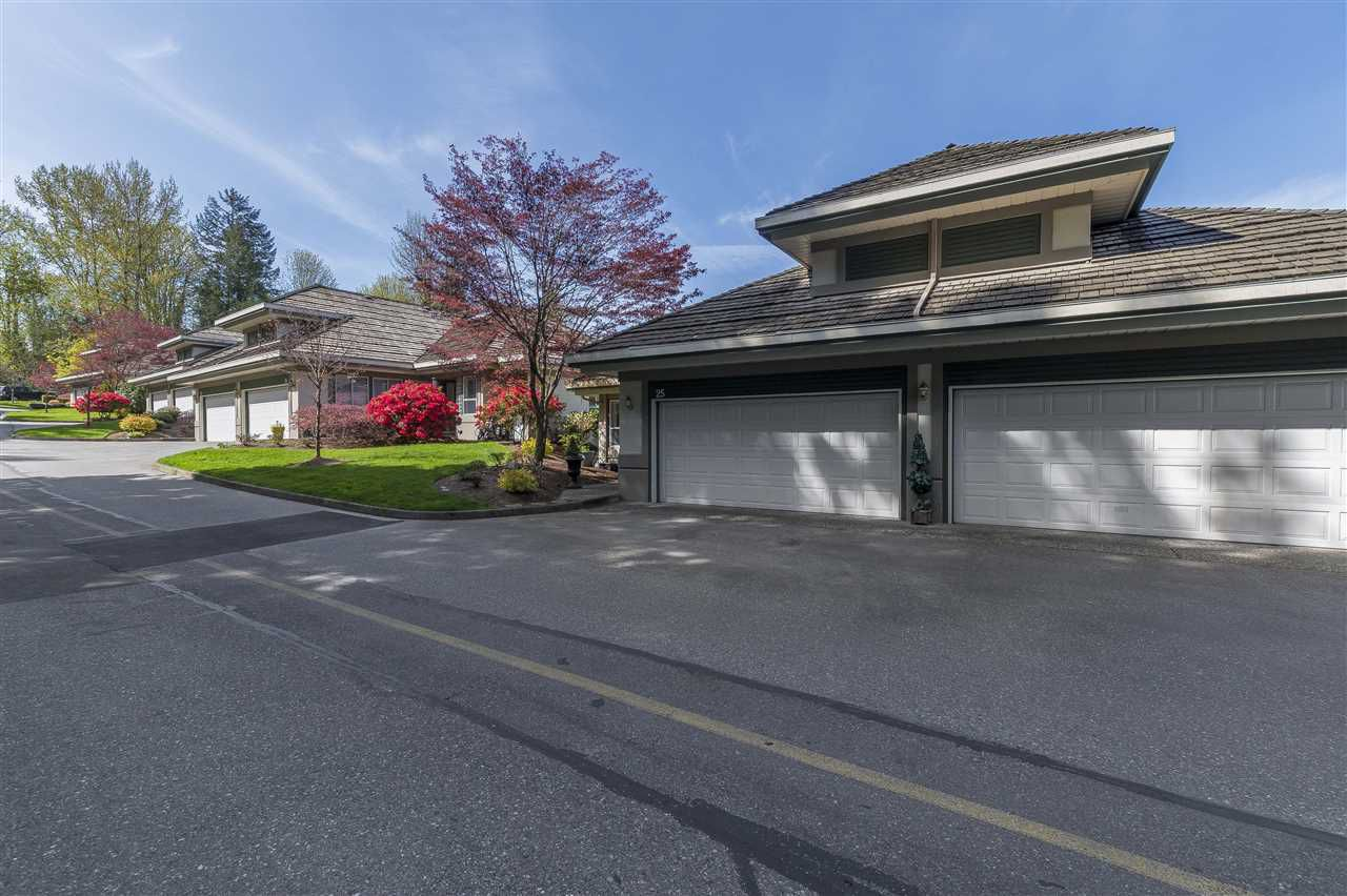 Main Photo: 25 4001 OLD CLAYBURN ROAD in Abbotsford: Abbotsford East Townhouse for sale : MLS®# R2260342