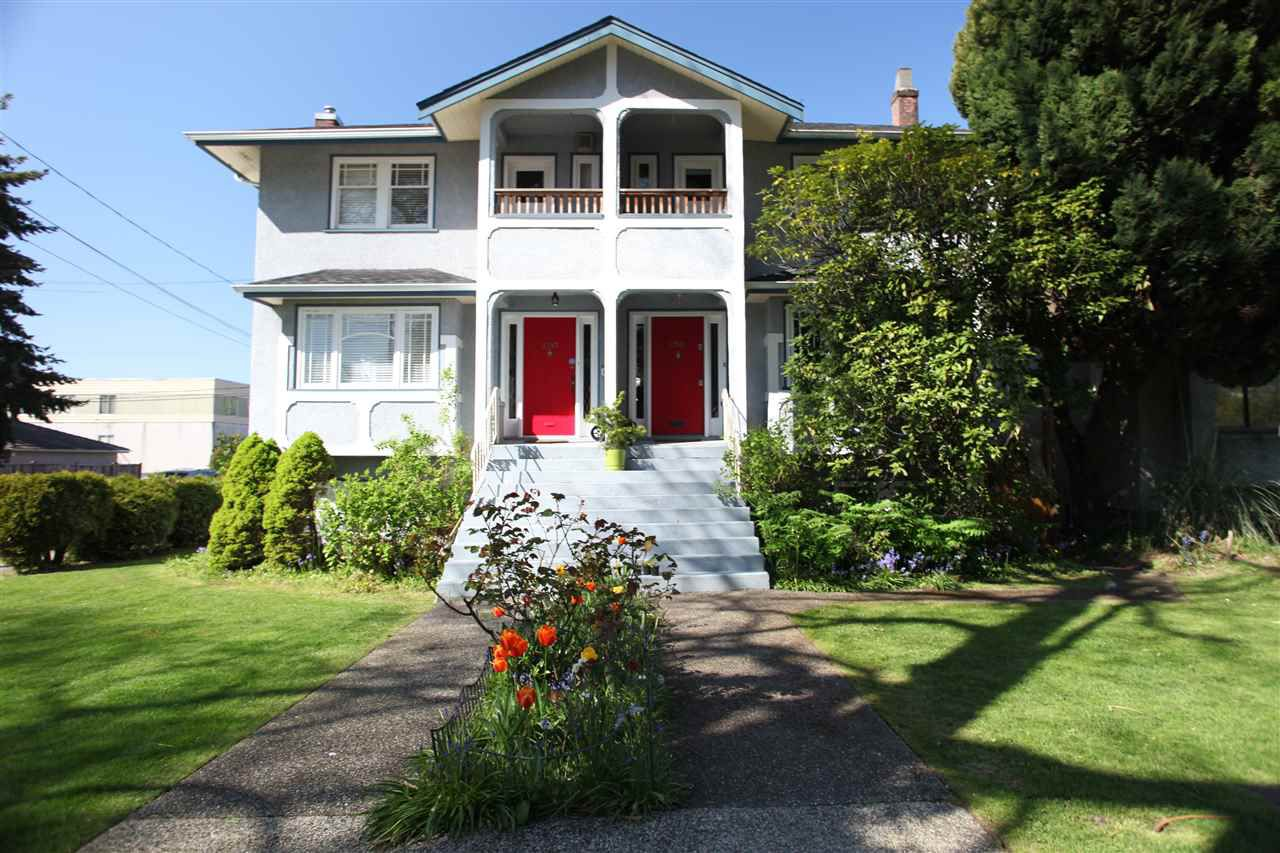 Main Photo: 2391 W 10TH Avenue in Vancouver: Kitsilano House 1/2 Duplex for sale (Vancouver West)  : MLS®# R2265722