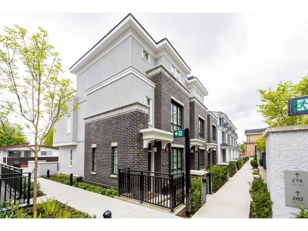 Main Photo: 10 262 W 62ND Avenue in Vancouver: Marpole Townhouse for sale (Vancouver West)  : MLS®# R2382397